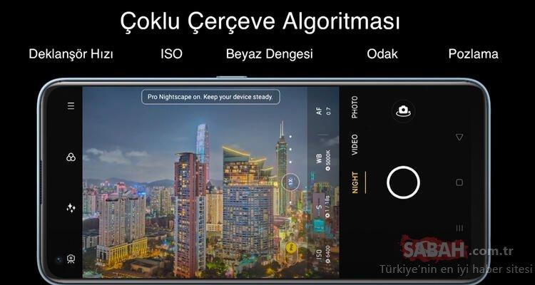 realme 7 Pro'nun Türkiye fiyatı ve özellikleri nedir? İşte detaylar...