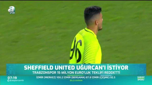 Sheffield United'dan Uğurcan Çakır için 15 milyon euro