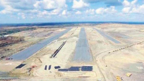 Üçüncü Havalimanı'nda ilk pist ortaya çıktı!