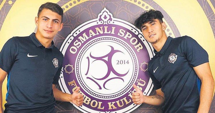 Osmanlıspor'da gençlik sevinci