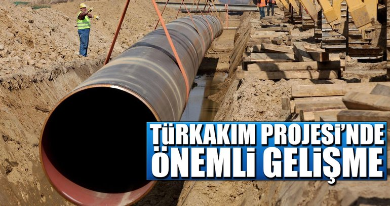 TürkAkım Projesi'nde denizde yol yarılandı