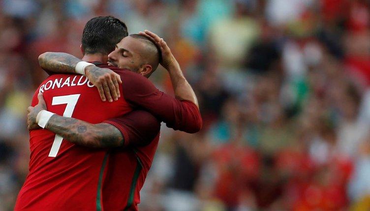 Ronaldo, 'Beşiktaş Donanması'na hayran kalmış!
