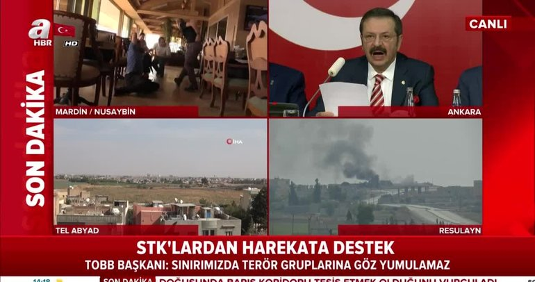 STK'lardan Barış Pınarı Harekatı'na tam destek
