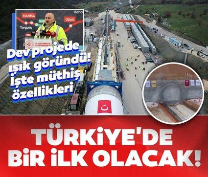Dev projede ışık göründü: Türkiye'de bir ilk olacak
