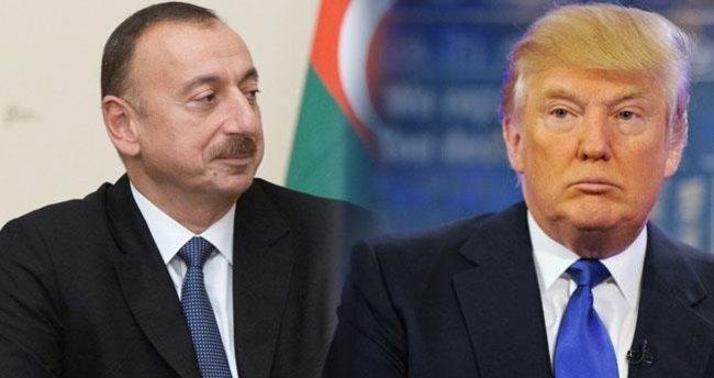 Aliyev ile Trump telefonda görüştü