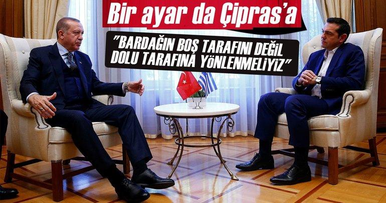 Cumhurbaşkanı Erdoğan ve Çipras'tan ortak açıklama