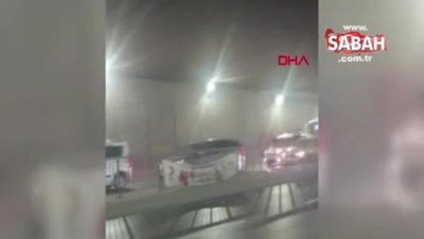 İsrail protestosunu kaydediyordu, feci kazayı görüntüledi   Video