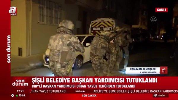 Son dakika! CHP'li Şişli Belediye Başkan Yardımcısı Cihan Yavuz tutuklandı | Video