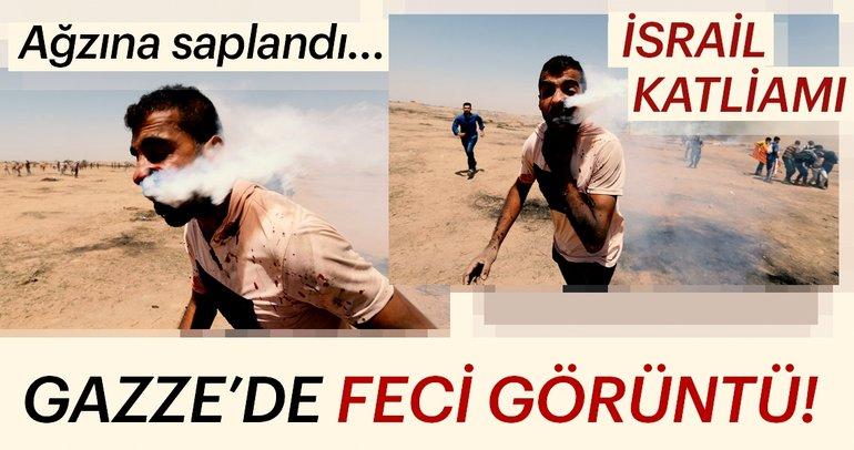 Son Dakika:İsrail-Gazze sınırında feci görüntüler! Dünya şokta...