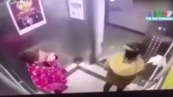 Dehşete düşüren corona virüsü bulaştırma anı görüntüleri şoke etti | Video