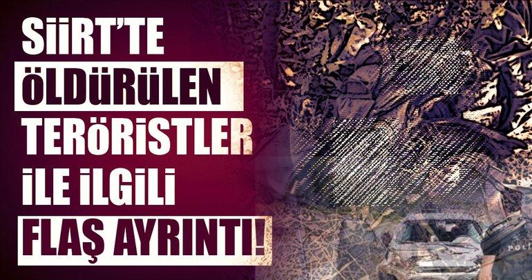 Son Dakika... Siirt'te 3 PKK'lı terörist etkisiz hale getirildi!