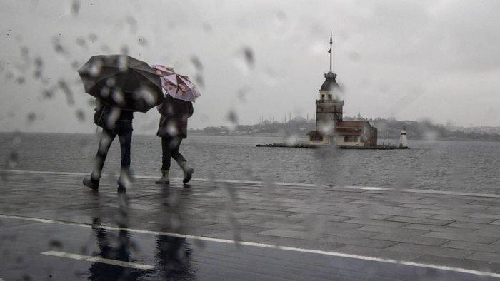 Meteoroloji'den İstanbul hava durumu ikazı! İstanbul hava durumu nasıl olacak ve yağmur yağacak mı? 13