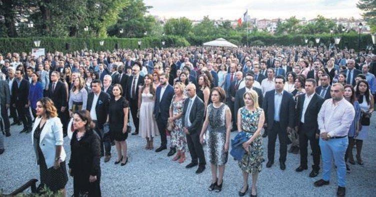 Başkentte Fransa Ulusal Bayramı resepsiyonu