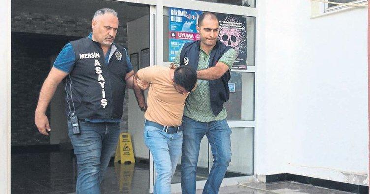 Hırsızlık zanlısı tahliye edildiği cezaevine geri döndü