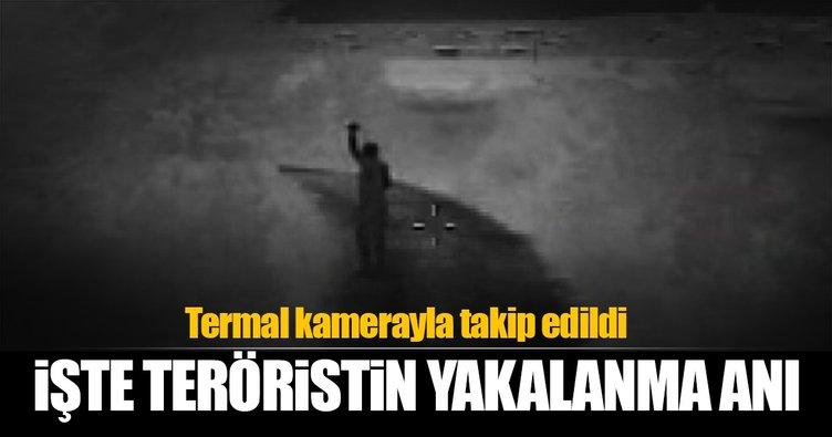 Aranan PKK'lı terörist böyle yakalandı