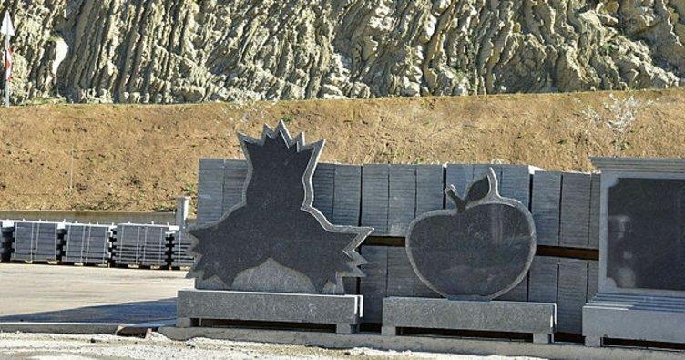 Taştan posta kutusu yapıldı