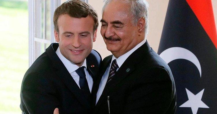 Macron'un Fransa Hafter'i desteklemedi açıklamalarına Libya'dan yanıt