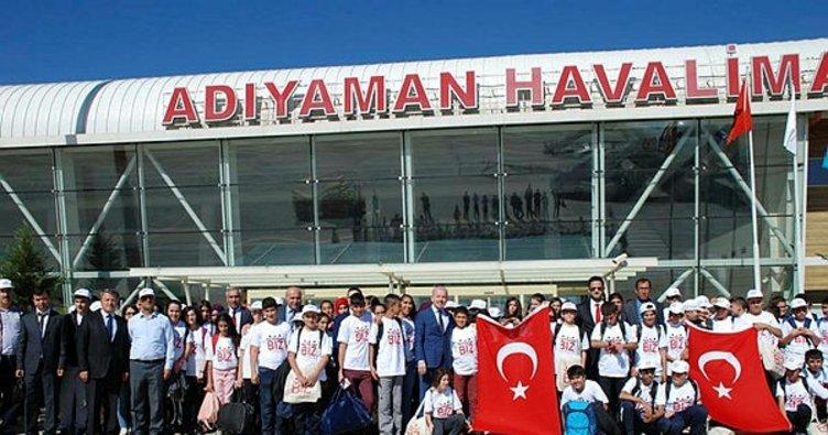 Adıyamanlı 194 öğrenci, Balıkesir'i gezecek