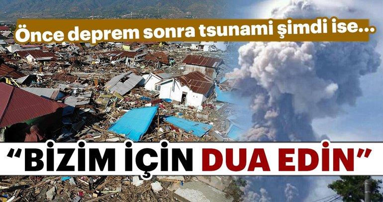 Endonezya'da felaket zinciri