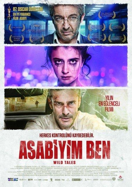 Asabiyim Ben filminden kareler