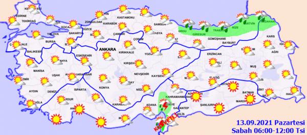 Son dakika hava durumu: Bugün hava nasıl olacak? Meteoroloji Genel Müdürlüğü'nden kritik uyarı... 14