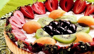 Yaz Meyveli Tart