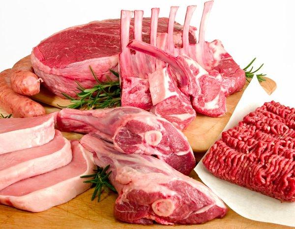 Günlük et tüketim oranı: 120 gram