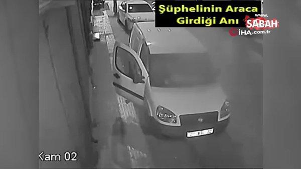 Hırsızın rahatlığı 'pes' dedirtti | Video