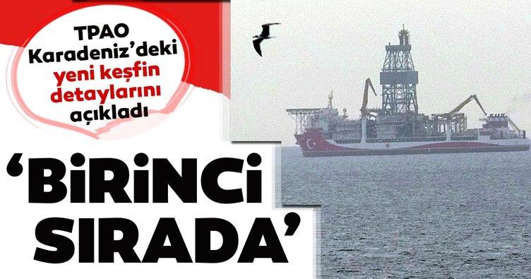 TPAO'dan Karadeniz'deki keşfe ilişkin açıklama geldi