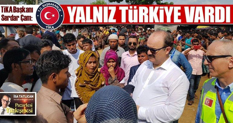 Arakan'da yalnız Türkiye vardı