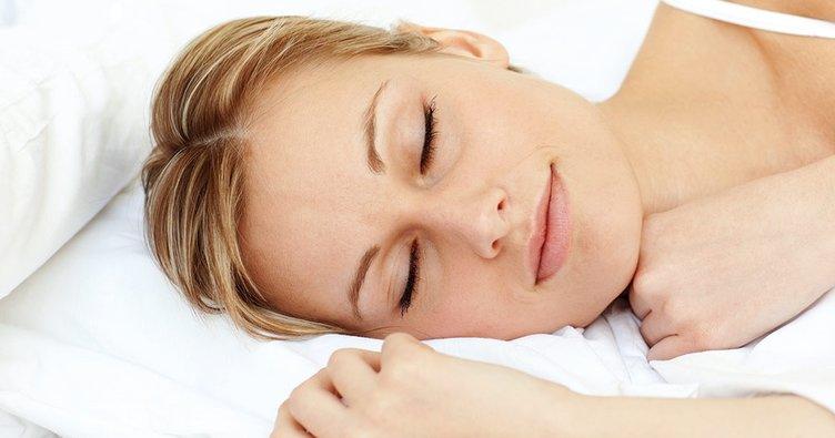 Uyku… biraz uyku, bütün istediğim bu!