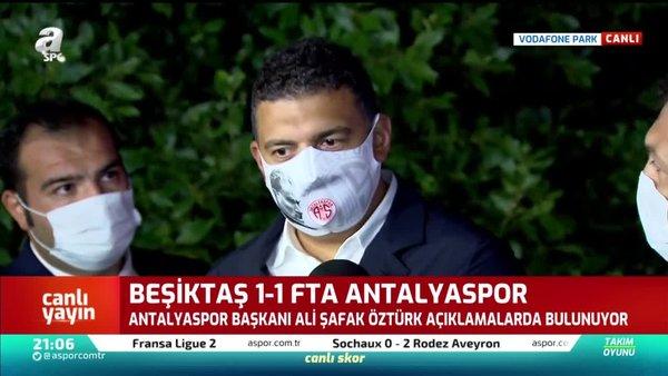 Antalyaspor Başkanı Ali Şafak Öztürk'ten Nazım Sangare açıklaması!