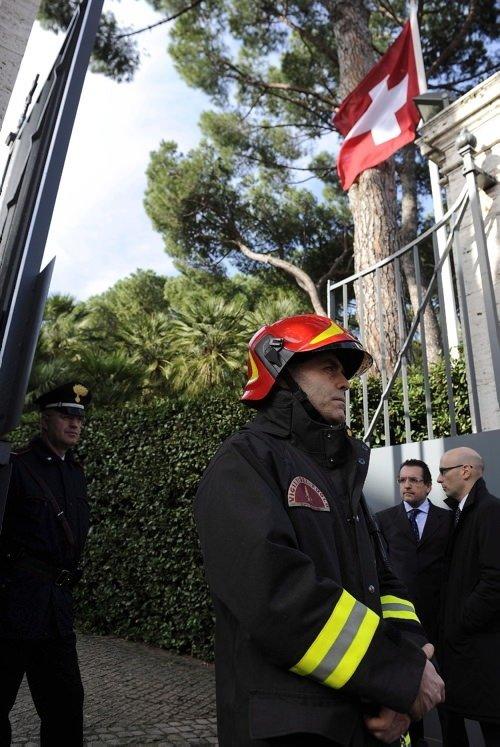 Roma'da üst üste bombalar patladı
