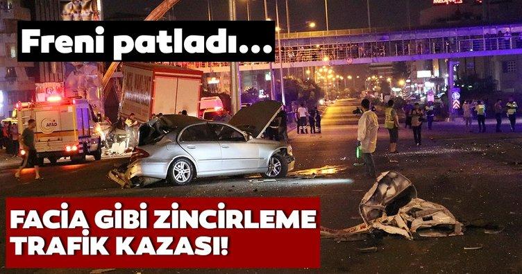 Son Dakika: İskenderun'da araçlar birbirine girdi! Freni patlayan kamyon dehşet saçtı! Yaralılar var…