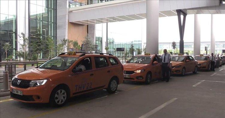İstanbul Havalimanı taksicilerinden 'Uber' açıklaması