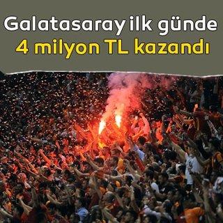 Galatasaray taraftarları kombineye hücum etti