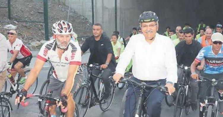Bisikletli başkanlar