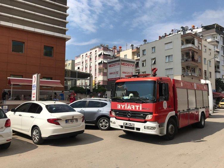 Son dakika: Özel hastanede patlama: 1 ölü, 3 yaralı