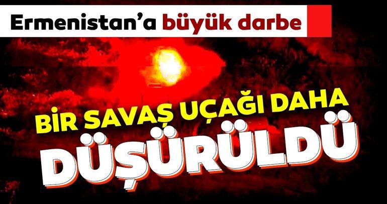 Son dakika: Azerbaycan ordusu duyurdu! Bir savaş uçağı daha düşürüldü... İşte Azerbaycan-Ermenistan geriliminde son durum...