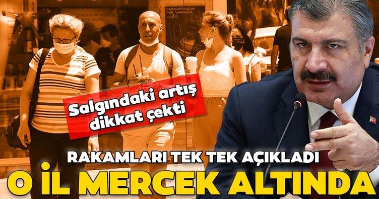 Son dakika: Sağlık Bakanı Fahrettin Koca: İzmir mercek altında...