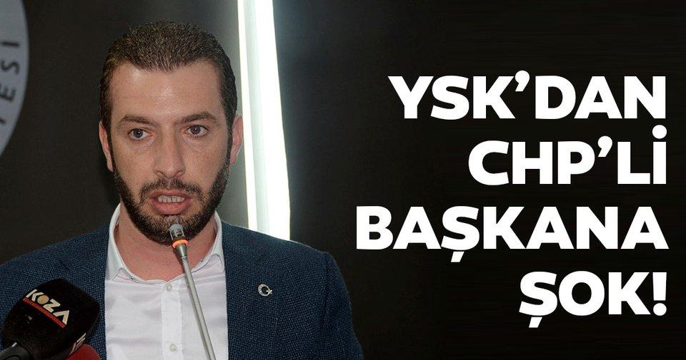 Son dakika: YSK, CHP'li Ceyhan Belediye Başkanı Kadir Aydar'ın sabıka kaydının bulunması nedeniyle mazbatasını iptal etti