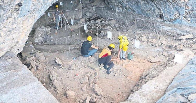 Mağara içi ilk yapı örnekleri bulundu