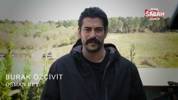 Kuruluş Osman dizisi oyuncularından corona virüsü ile mücadele eden sağlık çalışanlarına destek açıklaması | Video