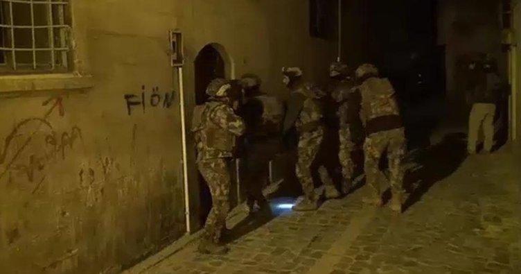 Şanlıurfa'da terör operasyonu! 9 kişi yakalandı