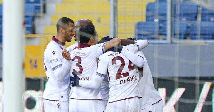 Fırtına seriyi 5 maça çıkardı! Gençlerbirliği 1-2 Trabzonspor