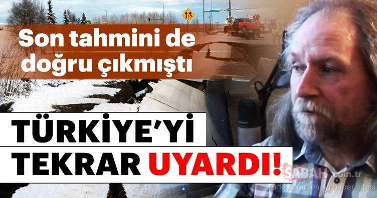 Deprem kahini Türkiye'yi tekrar uyardı! Son deprem tahmini doğru çıkmıştı