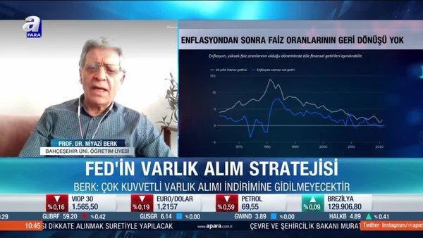 Prof. Dr. Niyazi Berk: Fed varlık alımlarını kademeli olarak azaltır