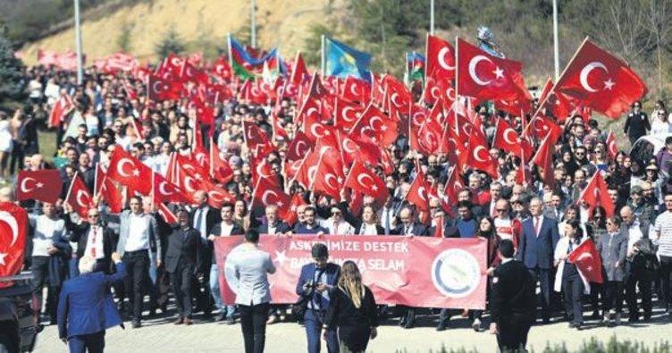 İşte Türk milleti bu