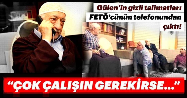 Gülen'in gizli talimatları FETÖ'cünün e-postasından çıktı