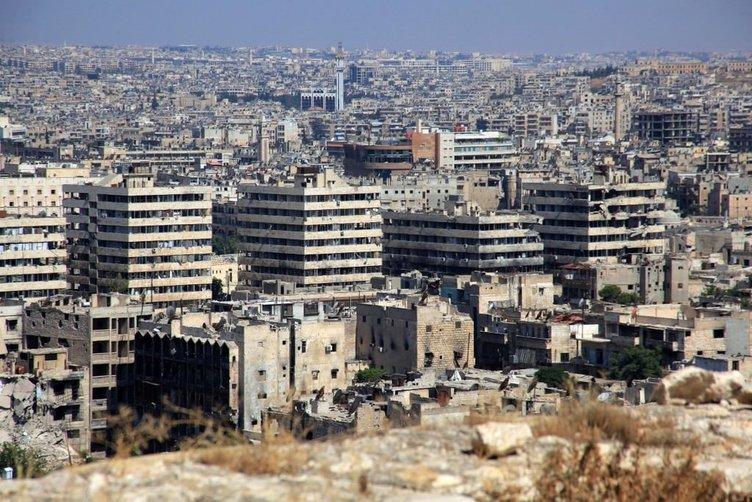 Halep'teki yıkım fotoğraflara böyle yansıdı